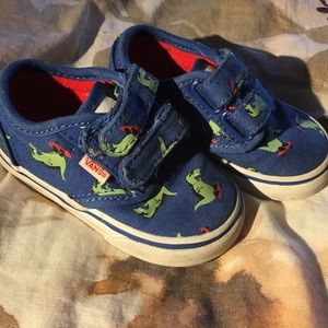 SUPER CUTE VANS TODDLER 4.5 GOOD CONDITION